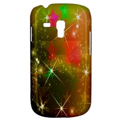 Star Christmas Background Image Red Galaxy S3 Mini
