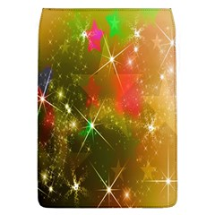 Star Christmas Background Image Red Flap Covers (l)