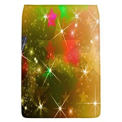 Star Christmas Background Image Red Flap Covers (s)