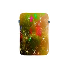 Star Christmas Background Image Red Apple Ipad Mini Protective Soft Cases