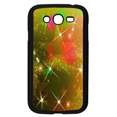 Star Christmas Background Image Red Samsung Galaxy Grand Duos I9082 Case (black)