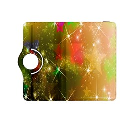 Star Christmas Background Image Red Kindle Fire HDX 8.9  Flip 360 Case