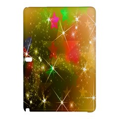 Star Christmas Background Image Red Samsung Galaxy Tab Pro 10 1 Hardshell Case