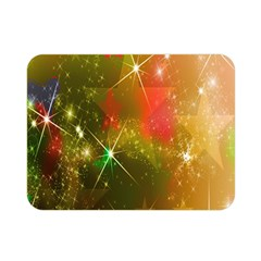 Star Christmas Background Image Red Double Sided Flano Blanket (Mini)