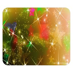 Star Christmas Background Image Red Double Sided Flano Blanket (small)