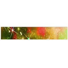 Star Christmas Background Image Red Flano Scarf (large)