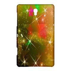 Star Christmas Background Image Red Samsung Galaxy Tab S (8 4 ) Hardshell Case