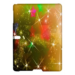 Star Christmas Background Image Red Samsung Galaxy Tab S (10.5 ) Hardshell Case