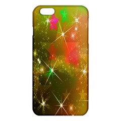 Star Christmas Background Image Red iPhone 6 Plus/6S Plus TPU Case