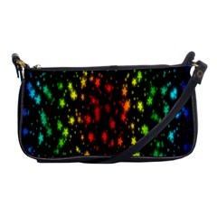 Star Christmas Curtain Abstract Shoulder Clutch Bags