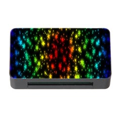 Star Christmas Curtain Abstract Memory Card Reader With Cf
