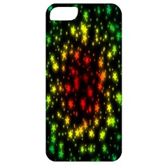 Star Christmas Curtain Abstract Apple Iphone 5 Classic Hardshell Case