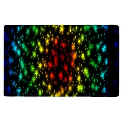 Star Christmas Curtain Abstract Apple Ipad 3/4 Flip Case