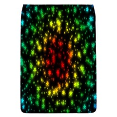 Star Christmas Curtain Abstract Flap Covers (l)
