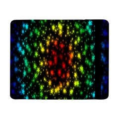 Star Christmas Curtain Abstract Samsung Galaxy Tab Pro 8 4  Flip Case