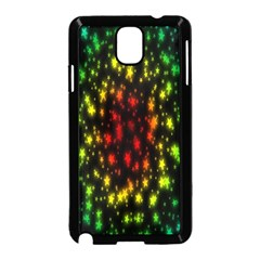 Star Christmas Curtain Abstract Samsung Galaxy Note 3 Neo Hardshell Case (black)