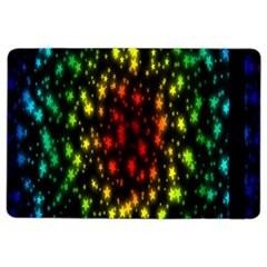Star Christmas Curtain Abstract iPad Air 2 Flip