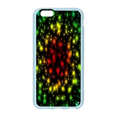 Star Christmas Curtain Abstract Apple Seamless iPhone 6/6S Case (Color)