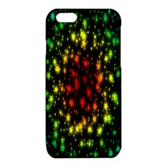 Star Christmas Curtain Abstract iPhone 6/6S TPU Case