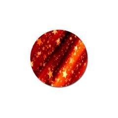 Star Christmas Pattern Texture Golf Ball Marker (10 pack)