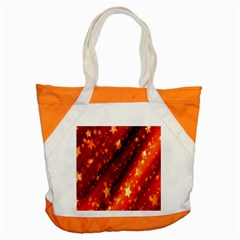 Star Christmas Pattern Texture Accent Tote Bag