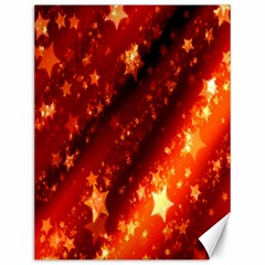 Star Christmas Pattern Texture Canvas 12  x 16
