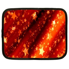 Star Christmas Pattern Texture Netbook Case (Large)