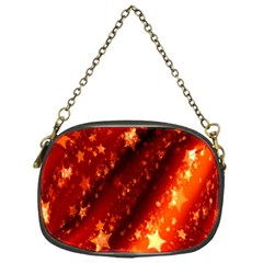 Star Christmas Pattern Texture Chain Purses (one Side)