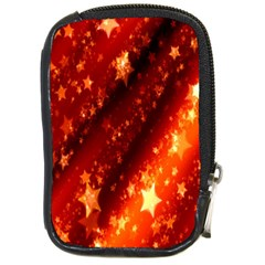 Star Christmas Pattern Texture Compact Camera Cases