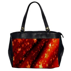 Star Christmas Pattern Texture Office Handbags