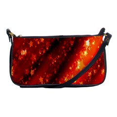Star Christmas Pattern Texture Shoulder Clutch Bags