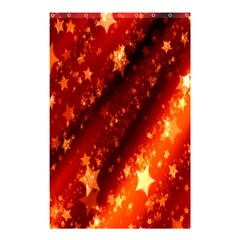Star Christmas Pattern Texture Shower Curtain 48  X 72  (small)