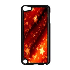 Star Christmas Pattern Texture Apple Ipod Touch 5 Case (black)