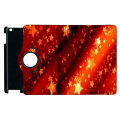 Star Christmas Pattern Texture Apple iPad 2 Flip 360 Case