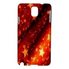 Star Christmas Pattern Texture Samsung Galaxy Note 3 N9005 Hardshell Case