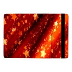 Star Christmas Pattern Texture Samsung Galaxy Tab Pro 10 1  Flip Case