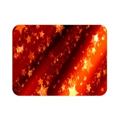Star Christmas Pattern Texture Double Sided Flano Blanket (mini)