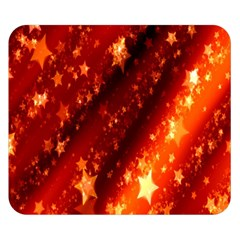 Star Christmas Pattern Texture Double Sided Flano Blanket (Small)