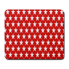 Star Christmas Advent Structure Large Mousepads