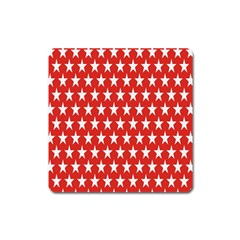 Star Christmas Advent Structure Square Magnet