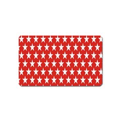Star Christmas Advent Structure Magnet (Name Card)