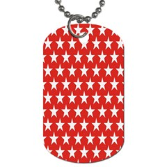 Star Christmas Advent Structure Dog Tag (Two Sides)