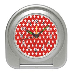 Star Christmas Advent Structure Travel Alarm Clocks