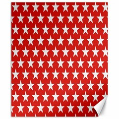 Star Christmas Advent Structure Canvas 8  x 10