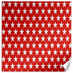 Star Christmas Advent Structure Canvas 20  x 20