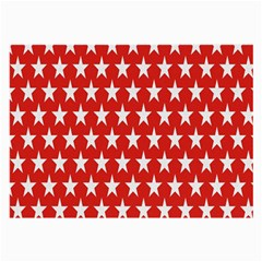 Star Christmas Advent Structure Large Glasses Cloth (2-Side)