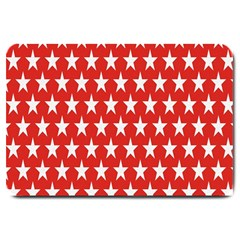 Star Christmas Advent Structure Large Doormat