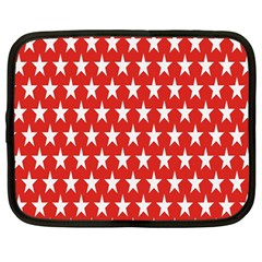 Star Christmas Advent Structure Netbook Case (Large)