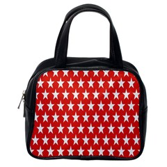 Star Christmas Advent Structure Classic Handbags (One Side)