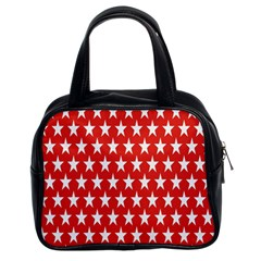 Star Christmas Advent Structure Classic Handbags (2 Sides)